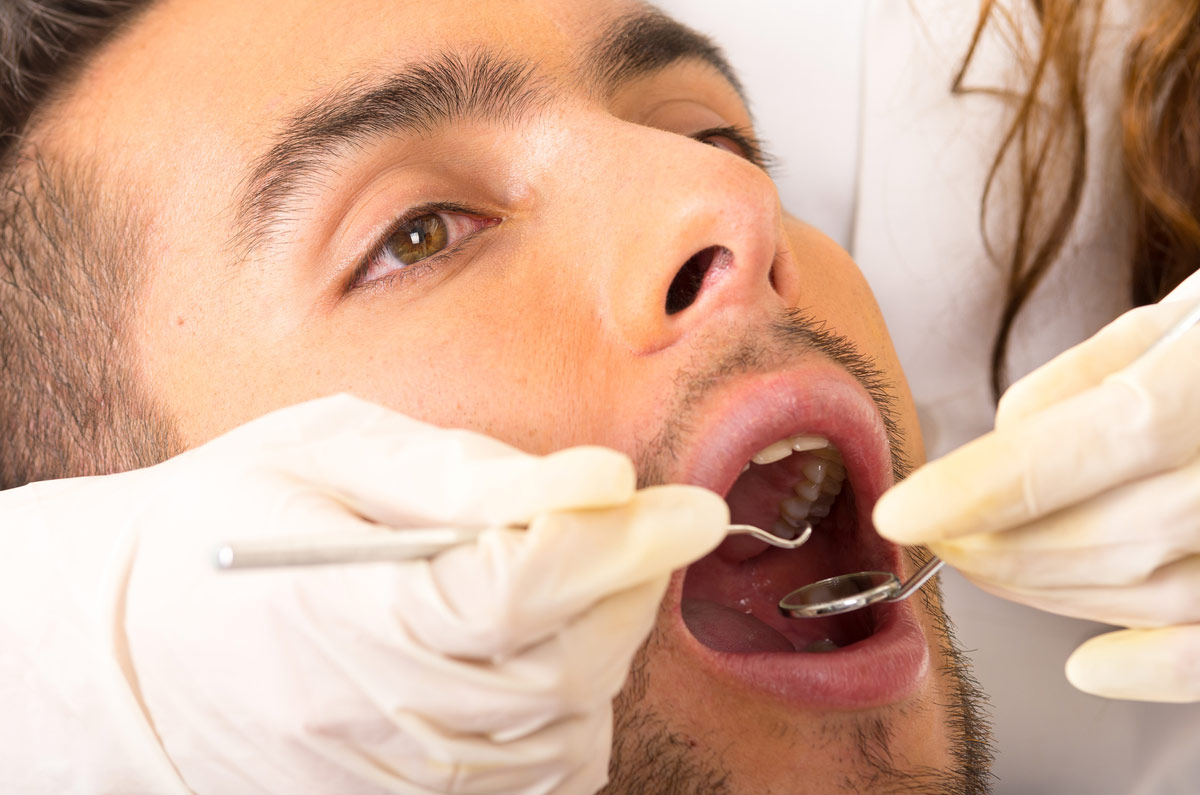 Oral cysts are often discovered during routine dental exams.