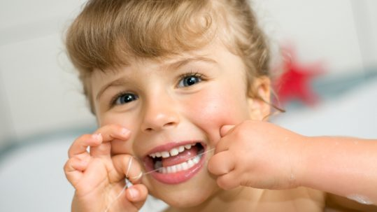 Children should begin flossing from two to six years of age, according to the Placerville Dental Group.