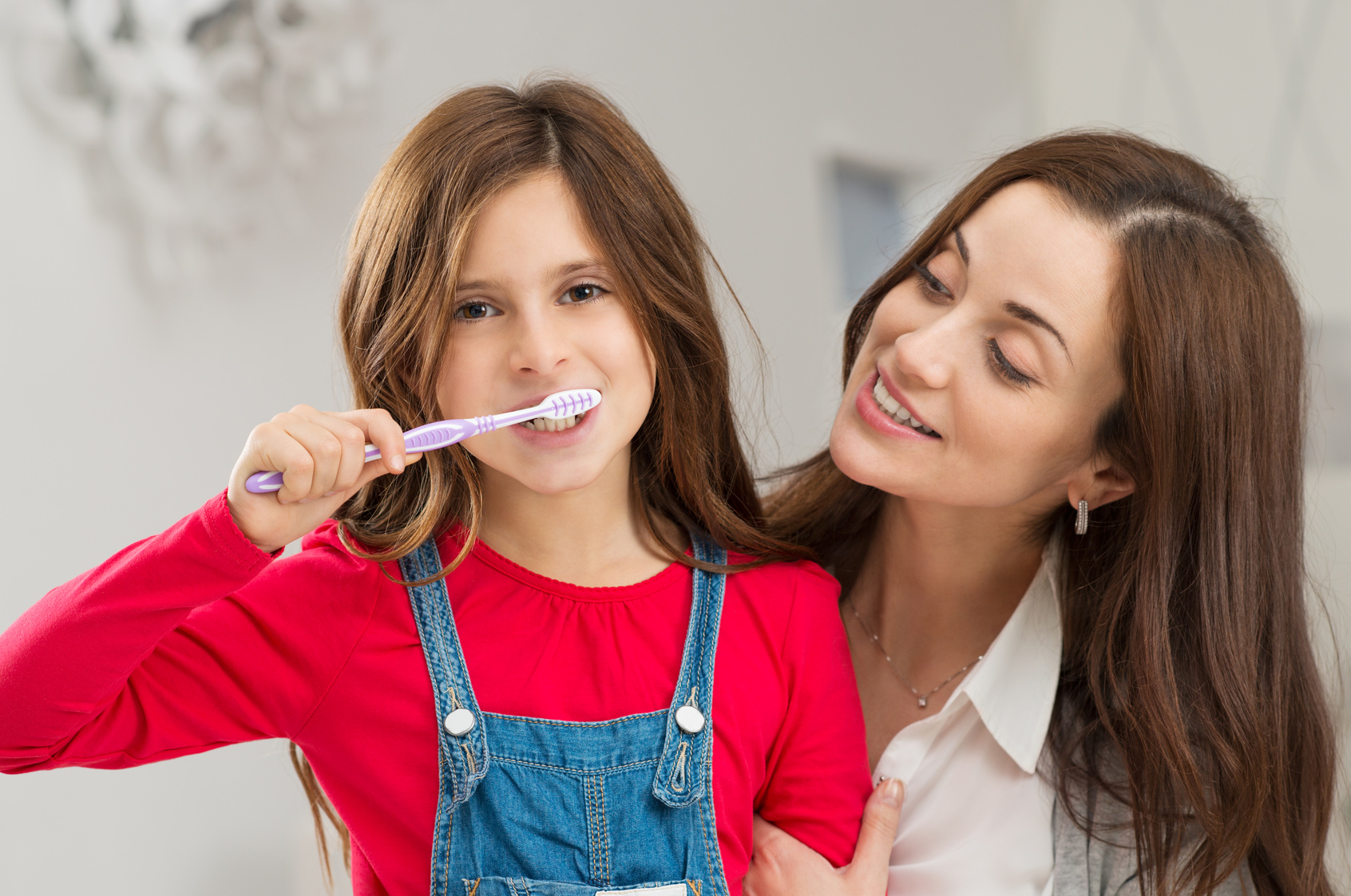 Our Placerville dentists encourage parents to help and monitor their children's oral hygiene routine.