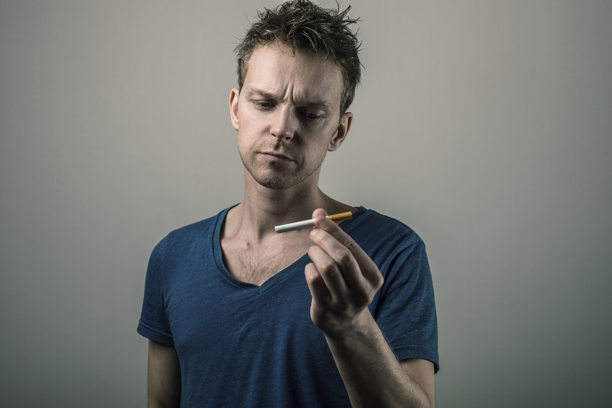 Smoking has deleterious affects on the gums and other oral tissues.