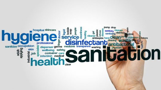 Sanitation is critical for our Placerville dental office.