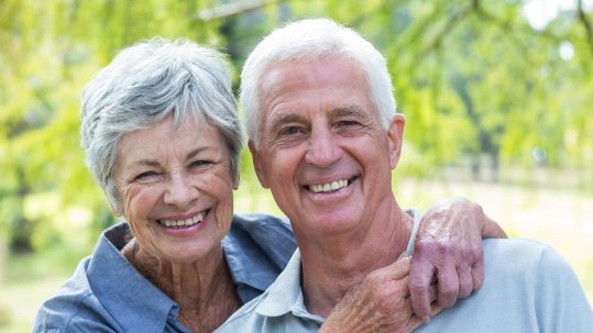 Older persons can keep all of their teeth, if they treat their mouth right!