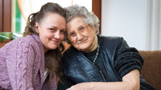 Caregivers can successfully manage an elderly person's dental health.